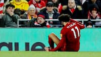 Skadet Salah misser landskampe for Egypten