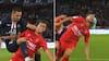 Voldsomt: PSG-spiller slår og sparker modstander i hovedet på under ét sekund - se det her