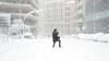 Sjældne scener: Voldsomt snevejr i Madrid udsætter topbrag
