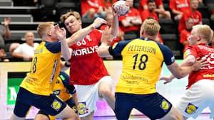 Danmark rejser til OL med sejr over Sverige i bagagen