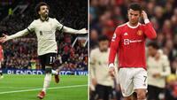 Historisk ydmygelse: Liverpool smadrer United på Old Trafford