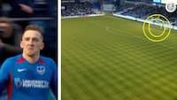 Han laver assist med en aflevering på 90 meter - se den flotte FA Cup-kasse her