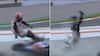 Retro: Rystende uheld i MotoGP - Franskmand bliver slagtet bagfra af motorcykel