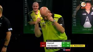 Van Gerwen blev budt op til dans: Måtte kæmpe hårdt for sejr