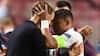 'No words': Storsmilende Tuchel kan ikke få armene ned over PSG's fødselsdagsmirakel - se interviewet lige her