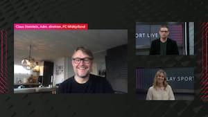 Ubarberet Steinlein i VIAPLAY SPORT LIVE: 'Vi kan samle hele Danmark om fodbolden'