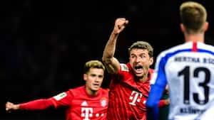 Bayern går målamok efter en time imod Hertha Berlin - se alle målene her