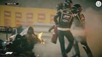 Vanvittig ulykke, Racing Point-nedtur og Hamilton-triumf – F1 Magasinet giver dig ALLE højdepunkter fra Bahrain