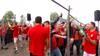 Kæmpe eufori i Nørreskoven: Se de festlige billeder fra Vejles oprykning her