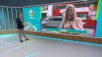 Aggressiv stemning i London før EM-finalen - Se reportagen her