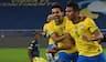 Brasilien slår Colombia i drama: Se vanvids-kassen og sejrsmålet efter 100 minutter