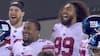 Holdkammeraterne er flade af grin: Giants-QB er tæt på kæmpe spil - men ender som dagens grin