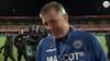 'Du skal sgu ikke lyde så overrasket' - glad Kent Nielsen driller TV3 SPORT-reporter efter ét point mod Løverne