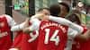 På banen i blot to minutter - iskoldt mål af Lacazette sender Arsenal på sejrskurs
