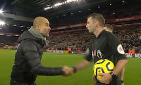 'Thank you so much' - sådan rasede ultra-sarkastisk Guardiola mod dommer efter drama på Anfield