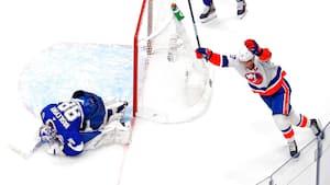 Gyserserie i NHL-playoffs: Islanders reducerer til 2-3 mod Lightning efter dobbelt overtidsdrama