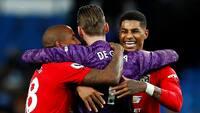 Kæmpe United-triumf: Solskjærs tropper slår City i intenst Manchester-derby - se højdepunkter her