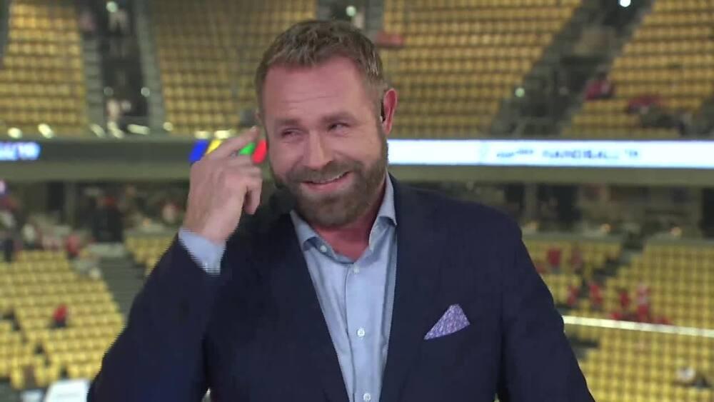 74ba022bfcd Husker du: Norsk kommentator går AMOK over dansk sejr - Boldsen er færdig  af grin