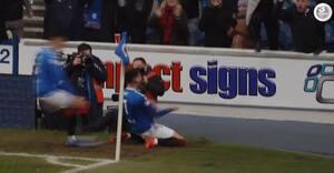 Ianis Hagi scorer første mål for Rangers - på sin fars fødselsdag