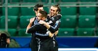 DRØMMEKASSE: Gareth Bale sender Real Madrid på 1-0 i første minut