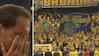 Rørende scener: Se Benedikt Röcker sige farvel til Brøndby-fans og kæmpe med følelserne