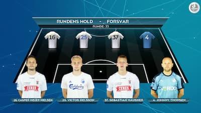 'Han er fuldstændig fabelagtig': Fem AGF'ere på rundens hold – se alle de 11 udvalgte spillere her