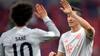 Fænomenale takter af Sané og Lewandowski på pletten sikrer Bayern reducering