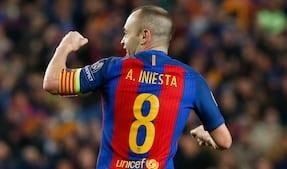Iniesta holder legestue med Getafe's forsvar: Se ham trylle her