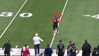 Et år siden i dag: Håbefuld NFL-spiller leverede FORFÆRDELIG prøvetræning