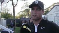 Lucas Bjerregaard utilfreds med spillet - men ikke sin score: 'Jeg ved ikke helt, hvad der foregår'