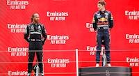 Efter Rosberg-kommentar om Verstappen-overhaling: Her er Hamiltons svar
