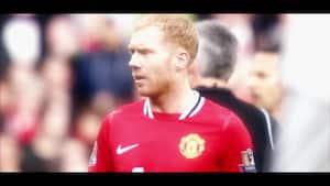 Tilbageblik på Manchester United-ikon - se indslag om Paul Scholes