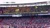 Weekendens sødeste: Regnende bamser stopper spillet i Rotterdam