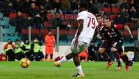 Stjerneskud redder dagen: AC Milan overvinder tidligt mål - se det hele her
