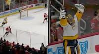 Ekstremt sjældent: NHL-målvogter scorer fra 60 meter - ikke set i mere end seks år