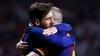 Så du det? Messi hylder Iniesta i pokaltriumf