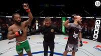 Absurd afslutning: MMA-fighter tror, han vinder - men så kommer chokket