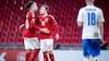 Danmark én plads op på verdensranglisten; Island syv ned