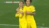 Dortmund foran 1-0: Skarp Hazard gør det onde ved sin tidligere klub - se det her