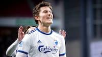 FCK'er nomineret til 'Ugens Spiller' i Europa League
