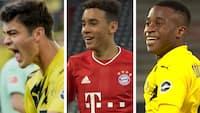Det er næsten lilleput-spillere: Her er de yngste målscorere i Bundesligaen i denne sæson