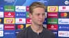 'Det var ikke vores bedste dag, men vi kontrollerede alligevel kampen' - tilfreds de Jong efter remis