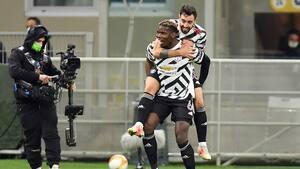 Paul Pogba pløkkede United til sejr mod Milan og Kjær på San Siro - klar til kvartfinalen