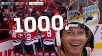 NHL-stjerne når kæmpe milepæl - her laver han sit NHL-point nummer 1000