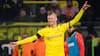 Erling Braut Haaland scorer sit FEMTE mål for Dortmund fra baglinjen