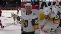 Voldsomme billeder! Av, av, av - NHL-stjerne får puck i munden og mister tænder