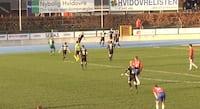 Se Finnbogason blive Vejle-matchvinder i overtiden mod Hvidovre