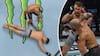 SMAK! Finsk UFC-fighter hamrer hovedet i gulvet efter TUNGT hug - se det her