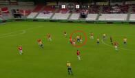 'Helt sindssygt godt lavet!': Skive-spiller scorer HERFRA - se det vanvittige mål her