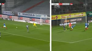 HSV med kæmpe mulighed for at lukke kampen - 15 sekunder senere ligger den i eget net